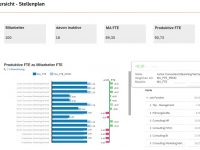 Stellenplan in SAP Analytics Cloud